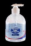 ACTIVE HAND SANITIZER 500 ML GEL CLEAN